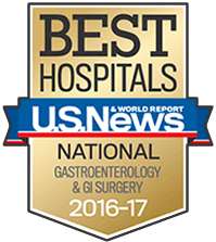 Manhattan Gastroenterology affiliated with the best hospitals, by U.S. News